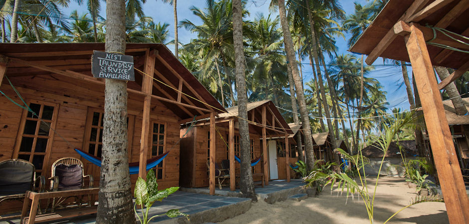 Nest Palolem Beach Goa